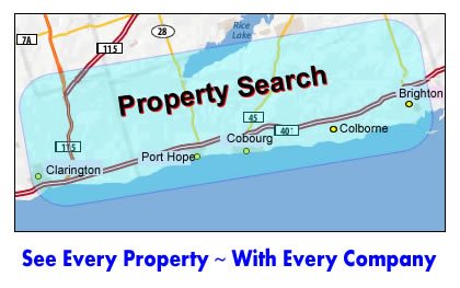 Search every property for sale in Clarington and Northumberland